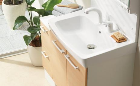 洗面所(洗面化粧台)のリフォーム